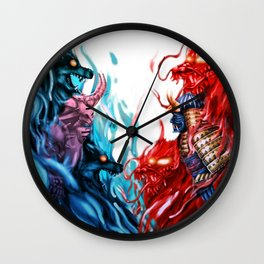 The Houses Wall Clock