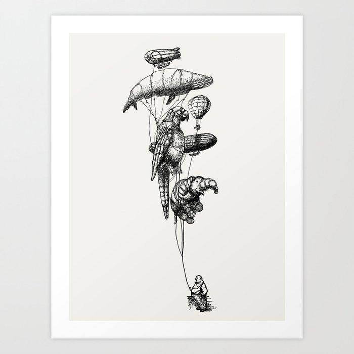 The Helium Menagerie Art Print