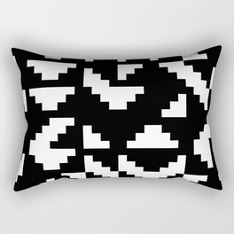 Truchet Tiles Rectangular Pillow
