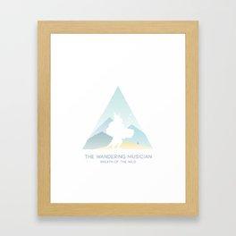 The Wandering Musician Framed Art Print