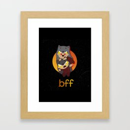B.F.F. Framed Art Print