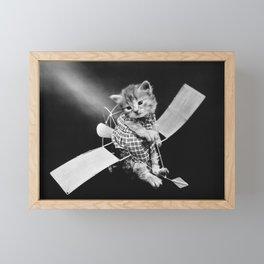The Aviator Cat - Harry Whittier Frees Framed Mini Art Print