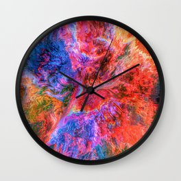God's Face Wall Clock