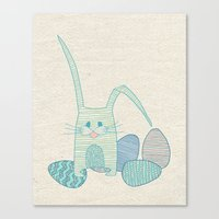 easter Canvas Prints featuring Easter by Anita Ivancenko