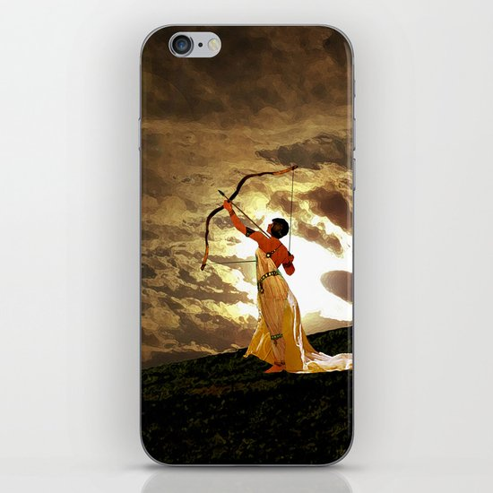The Far Side of Midnight iPhone & iPod Skin