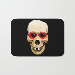 Day Of The Dead 3 by Sharon Cummings Bath Mat