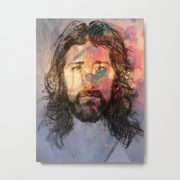 Yesu in Christ Metal Print