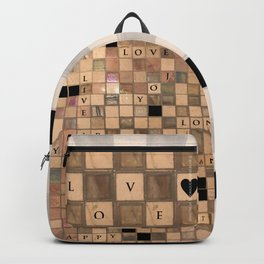 CROSSWORD LOVE Backpack