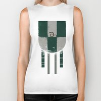 slytherin Biker Tanks featuring slytherin crest by nisimalotse