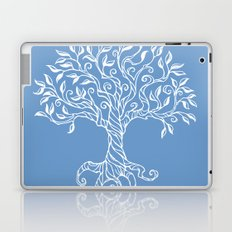 Tree of Life Blue Laptop & iPad Skin