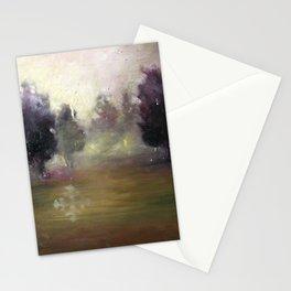 Dream Landscape At Dusk Stationery Cards