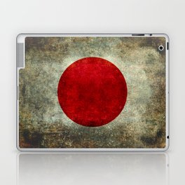 National flag of Japan - Super Grunge Laptop & iPad Skin