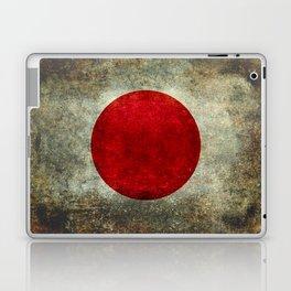 National flag of Japan - Super Grunge Laptop & iPad Skin