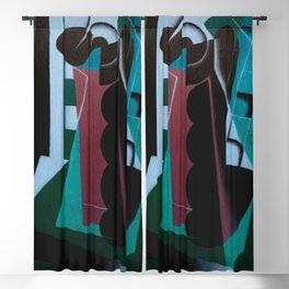 "Juan Gris ""Nature Morte sur une Chaise (Still Life on a Chair)"" (edited 1) Blackout Curtain"
