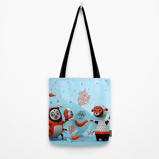 Dead Fish Tote Bag