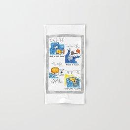 Got a BIG task? Hand & Bath Towel