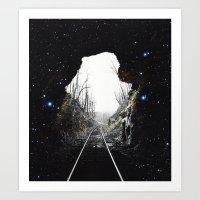 Plan Astral Art Print