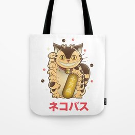 Lucky Catbus Tote Bag