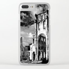 Abbaye De Jumieges Clear iPhone Case