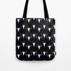 Rows of Beaks Tote Bag