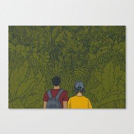 On Sunday Canvas Print