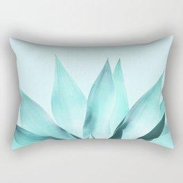 Aqua Solar Agave Rectangular Pillow