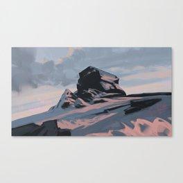 Colorful Rock #3 Canvas Print
