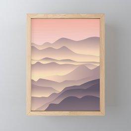 5 am on the top Framed Mini Art Print