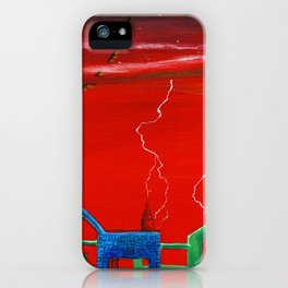 Petalathoristad iPhone Case