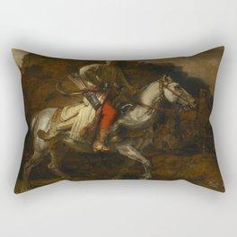 The Polish Rider Rectangular Pillow