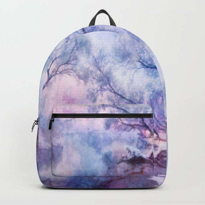 Winter fairy tale Backpack