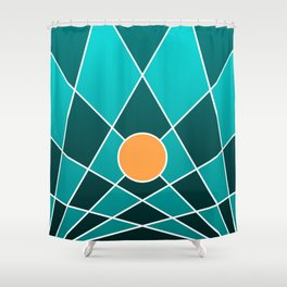 Digital Meditation 20181226 Shower Curtain