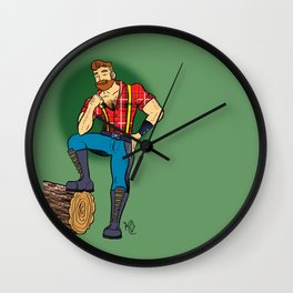 Jack! Wall Clock
