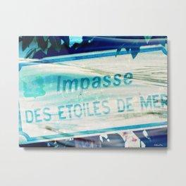 Etoiles De Mer Metal Print