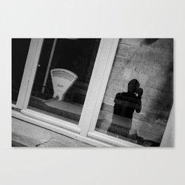 Shadow photographer 2 Canvas Print