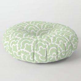 Fan Pattern Nile Green 113 Floor Pillow