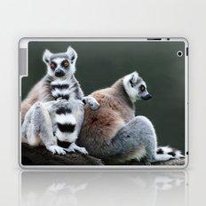 Ring Tailed Lemurs Laptop & iPad Skin