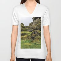 the hobbit V-neck T-shirts featuring Hobbit House by Alex Tonetti Photography