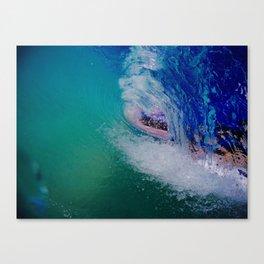 Blue Vortex Canvas Print