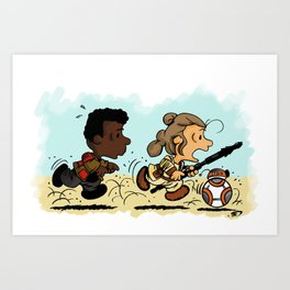 Race For Your Life!! Art Print