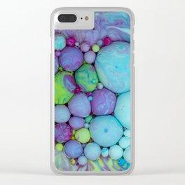 Bubbles-Art - Thanatos Clear iPhone Case