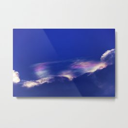 Fire Rainbow Metal Print