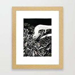 Terrestrial Life Framed Art Print