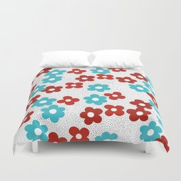 complementary colors Duvet Cover