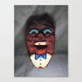 Necrotic California Raisin Nightmare Fuel Canvas Print