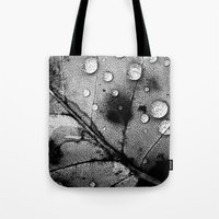 leaf Tote Bags featuring leaf by Bonnie Jakobsen-Martin