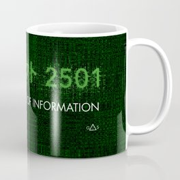 Ghost in the shell - Project 2501 Coffee Mug