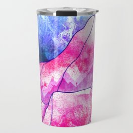 The blue planet rises Travel Mug