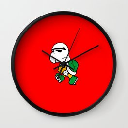 Koopa Trooper Wall Clock