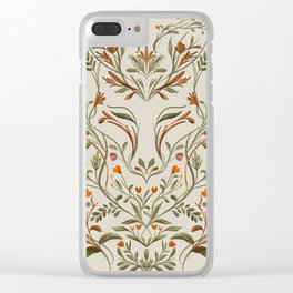 Fox In The Woods Clear iPhone Case